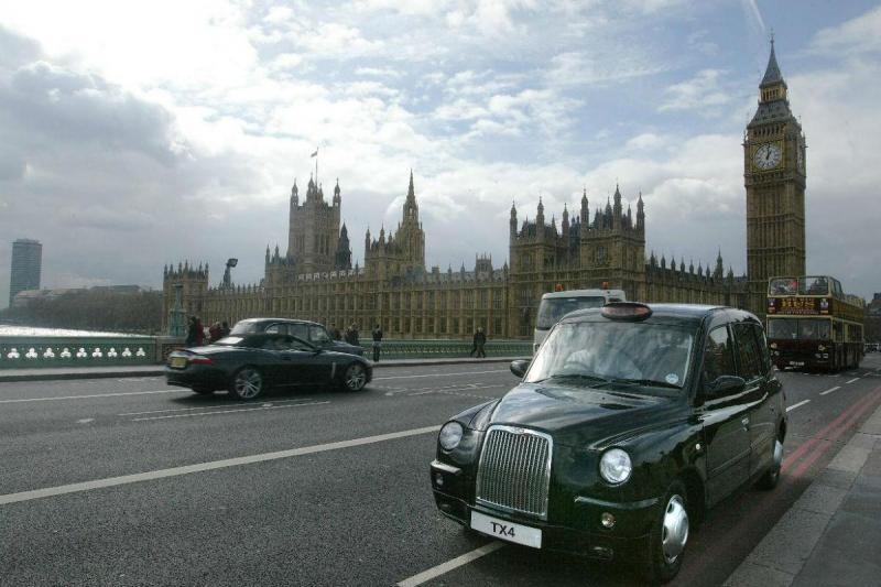 Táxi em Londres