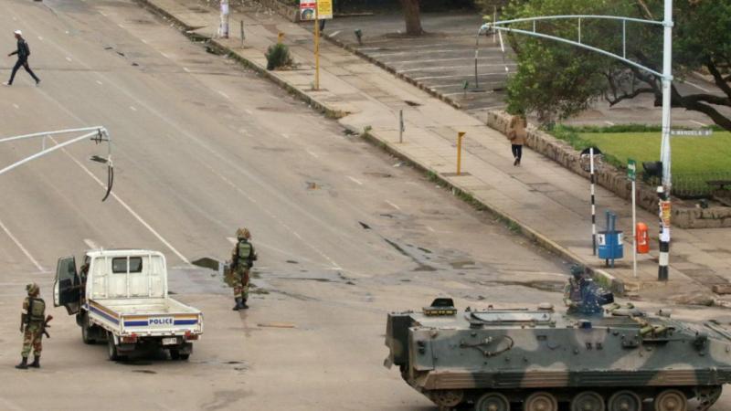 Tensões no Zimbabué