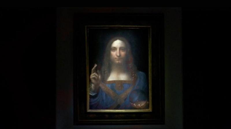 Último quadro de Leonardo Da Vinci arrematado por 400 milhões