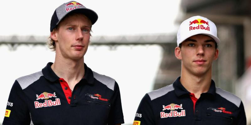 Brendon Hartley e Pierre Gasly (imagem Scuderia Toro Rosso)