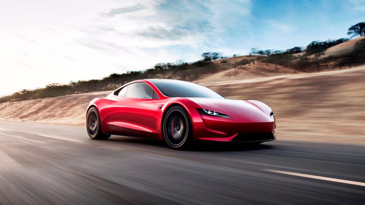 Tesla Roadster (via Reuters)
