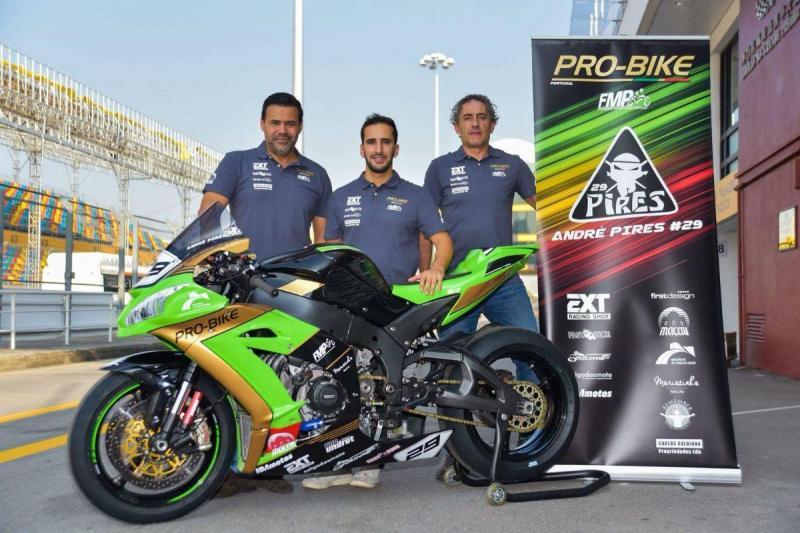 André Pires falha corrida após problemas no motor da moto