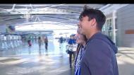 A partida do FC Porto para a Turquia
