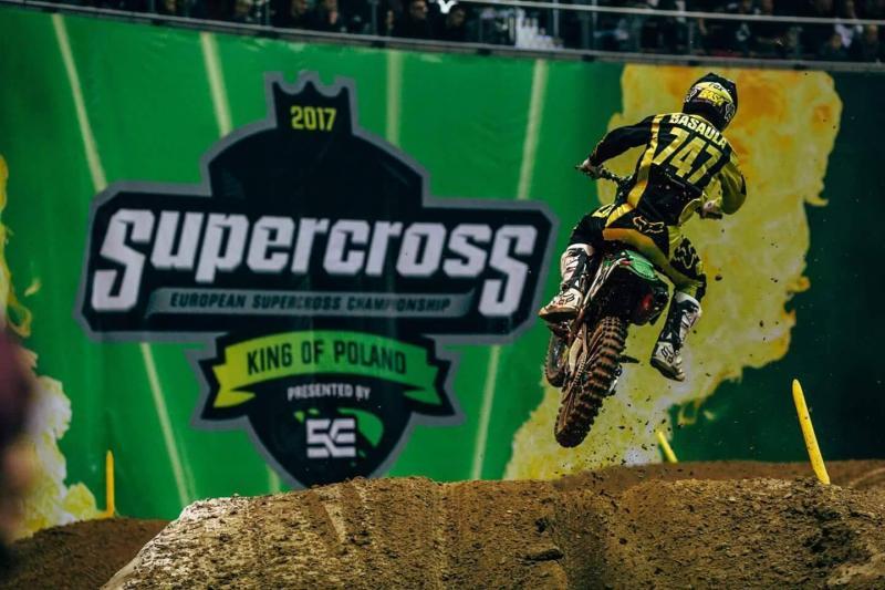 Hugo Basaúla com quarto lugar em Supercross