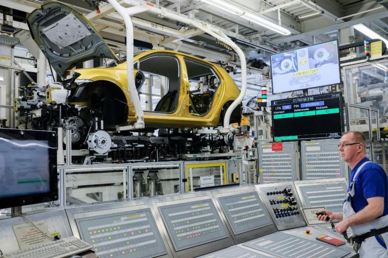 Fábrica da VW em Wolfsburgo
