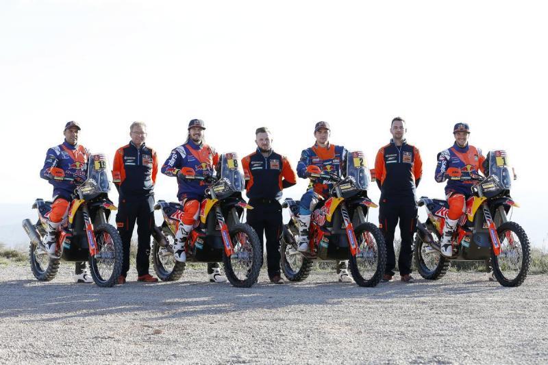 Equipa KTM está pronta para atacar o Dakar'2018