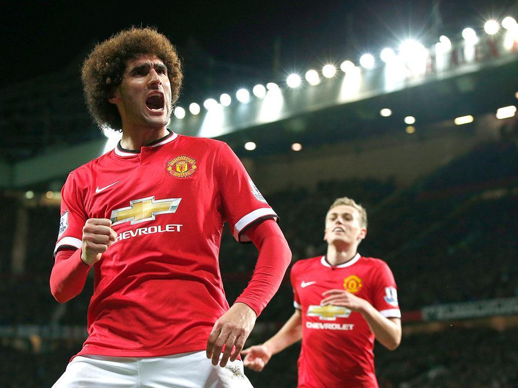Marouane Fellaini, 29 anos (Manchester United), valor de mercado (fonte: transfermarkt): 12M