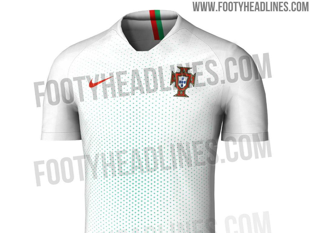 FOTOS  serão estes os equipamentos de Portugal no Mundial 2018 ... 56a5121dc75ca
