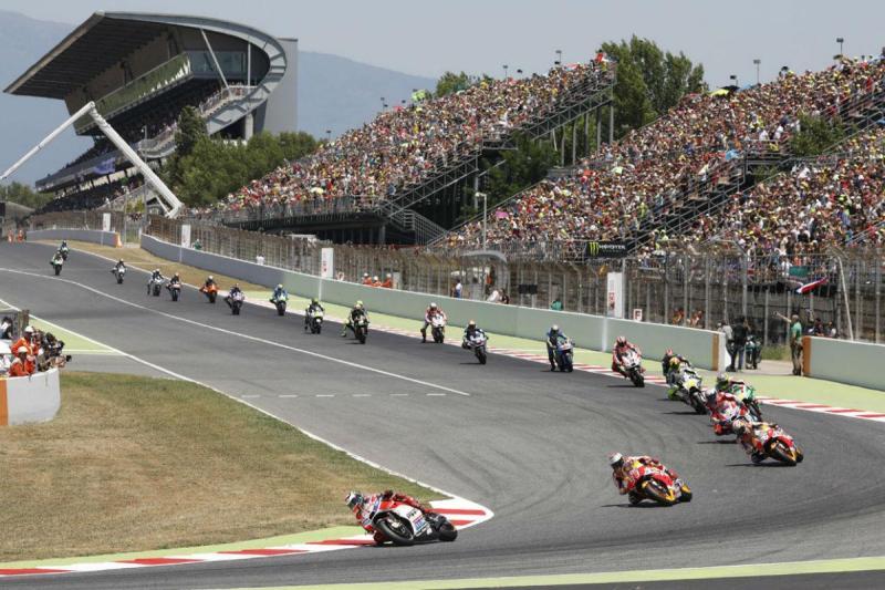 Circuito da Catalunha em obras para MotoGP 2018