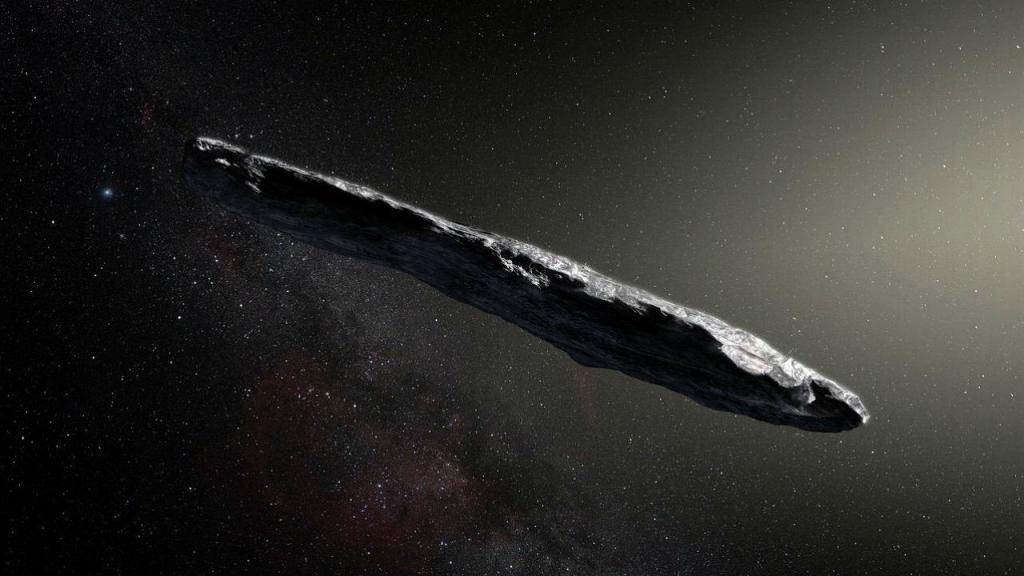 O primeiro asteróide interestelar a ser visto no Sistema Solar