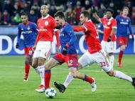 CSKA Moscovo-Benfica (Lusa)