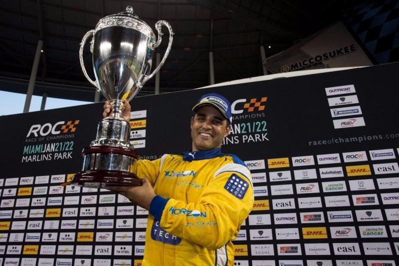 Juan Pablo Montoya vai defender o seu título ROC em 2018