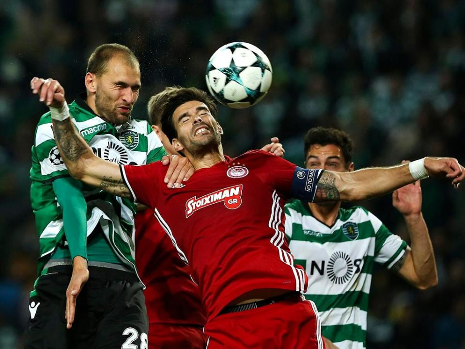 LC: Sporting-Olympiakos, 3-1 (destaques)