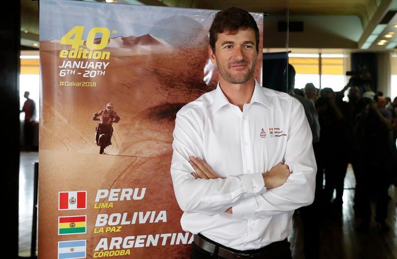 Marc Coma olha com entusiasmo para a 40.ª edição do rali Dakar