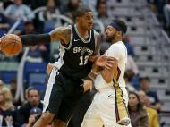 New Orleans Pelicans-San Antonio Spurs ( Reuters )
