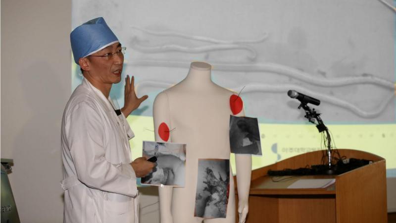 Cirurgião do desertor coreano