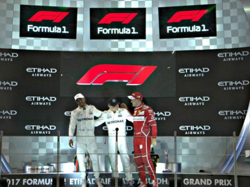 GP de Abu Dhabi (reprodução Twitter Fórmula 1)