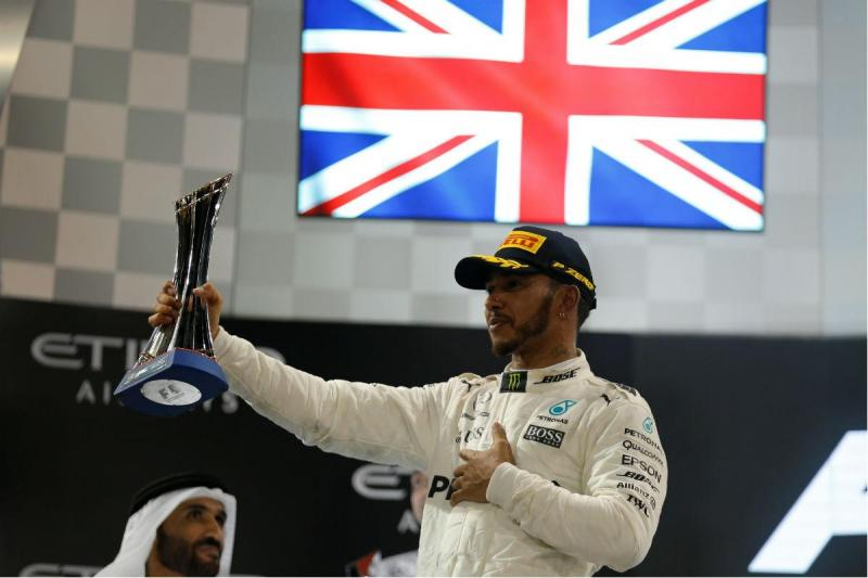 Lewis Hamilton - GP de Abu Dhabi (Reuters)