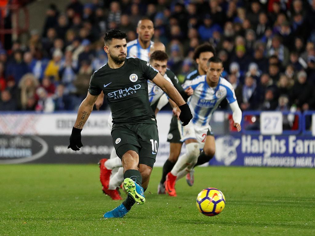 Huddersfield-Manchester City (Reuters)