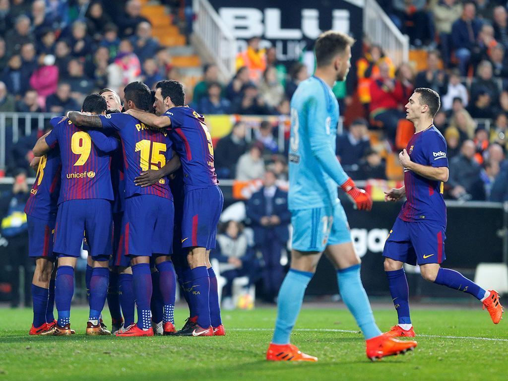 Valência-Barcelona (Reuters)