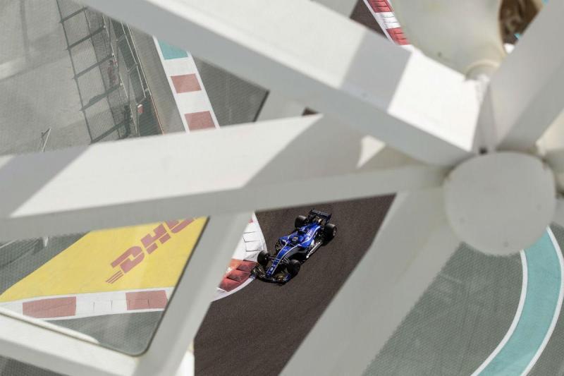 Marcus Ericsson - GP de Abu Dhabi (Lusa)