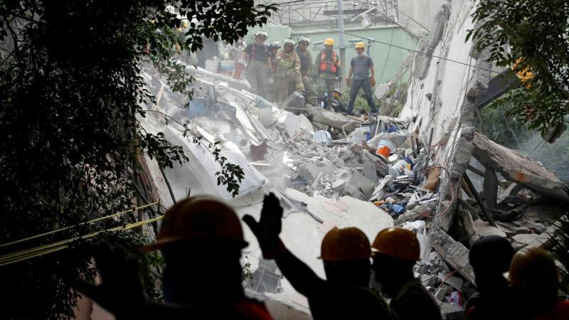 Terramoto na Cidade do México (20 de setembro de 2017)