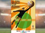 Poster oficial do Mundial 2018