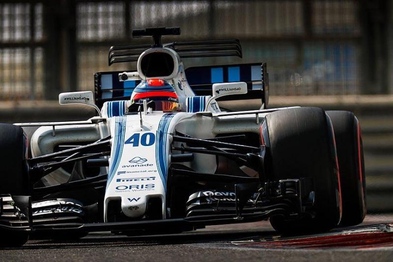 Kubica já roda com a Williams