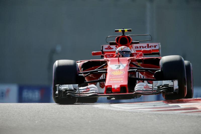 Kimi Raikkonen - GP Abu Dhabi (Reuters)