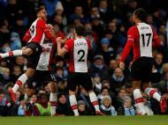 Manchester City-Southampton (Reuters)