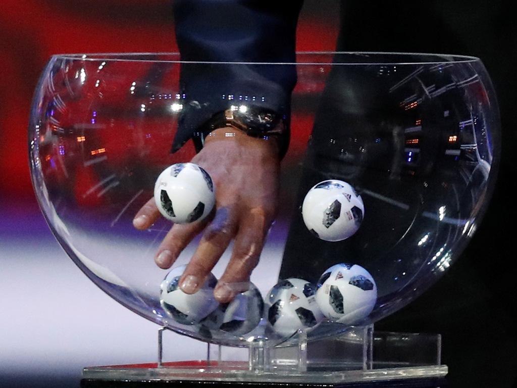Sorteio do Mundial 2018 (Lusa)
