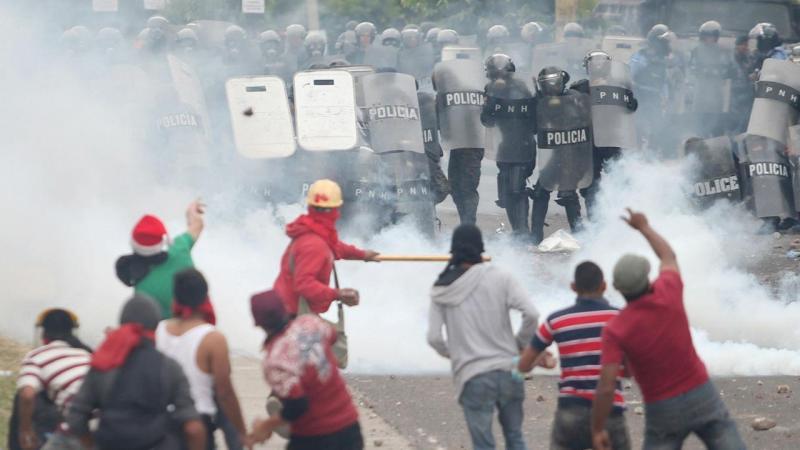 Violência nas Honduras