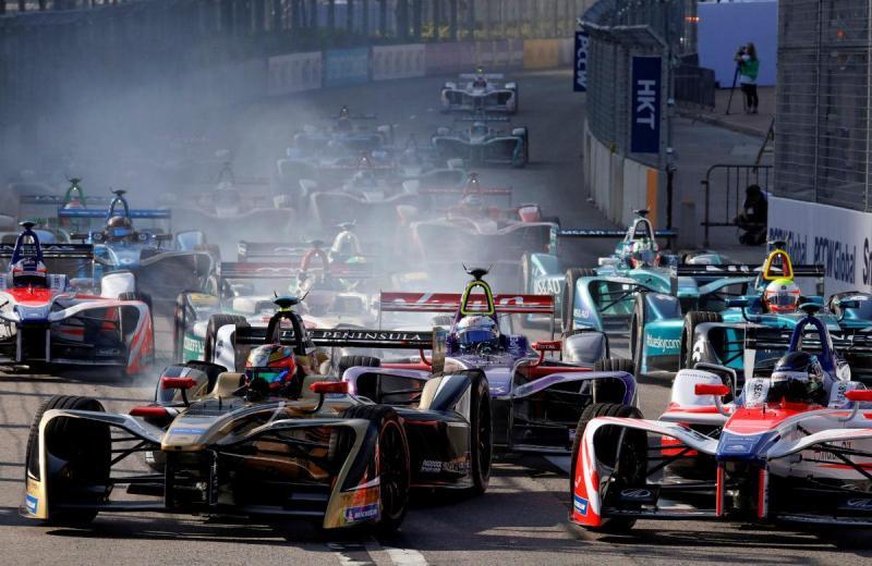 Formula E - Hong Kong (Reuters)