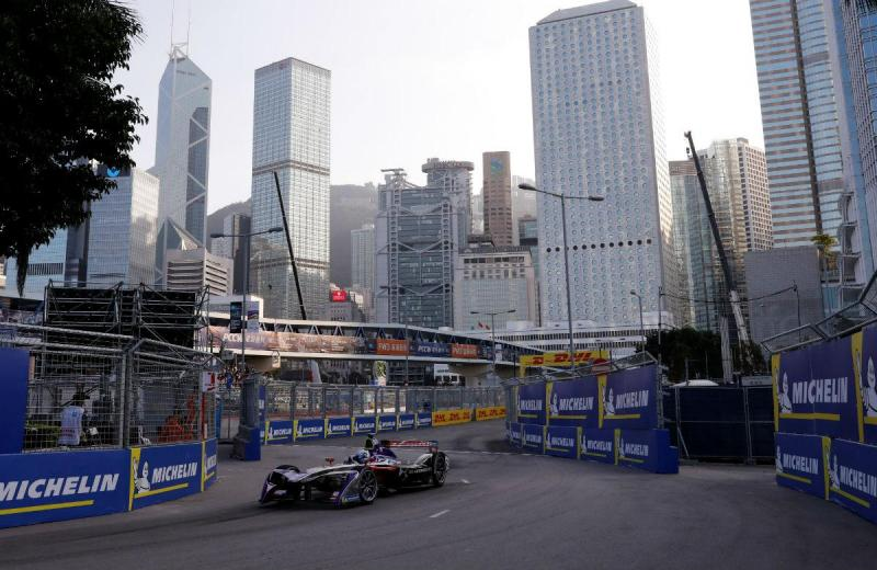 Sam Bird - Formula E - Hong Kong (Reuters)