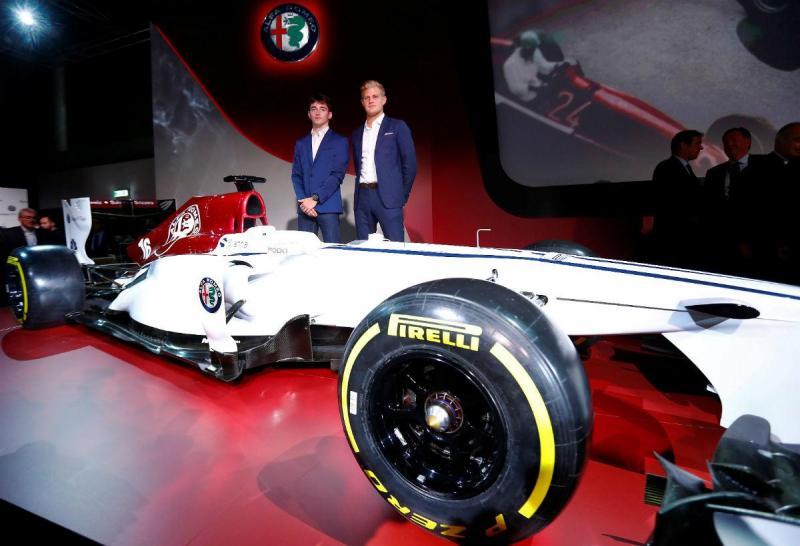 Charles Leclerc e Marcus Ericsson (Alfa Romeo Sauber)