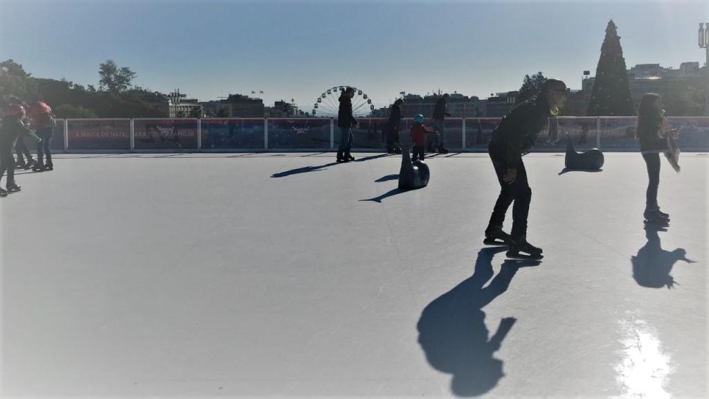 O terceiro dia de Wonderland na pista de gelo