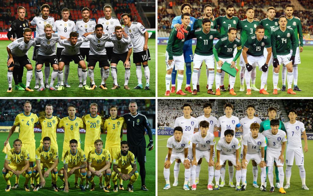 Mundial 2018: Grupo F