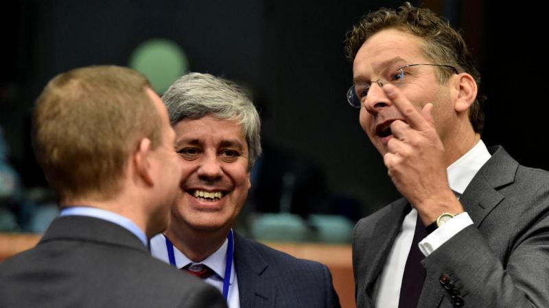 Resultado de imagem para mário centeno e presidente do eurogrupo