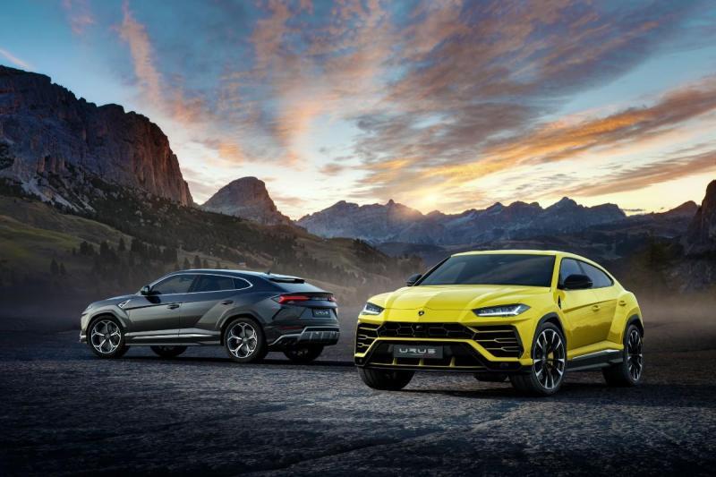 Lamborghini Urus já foi apresentado