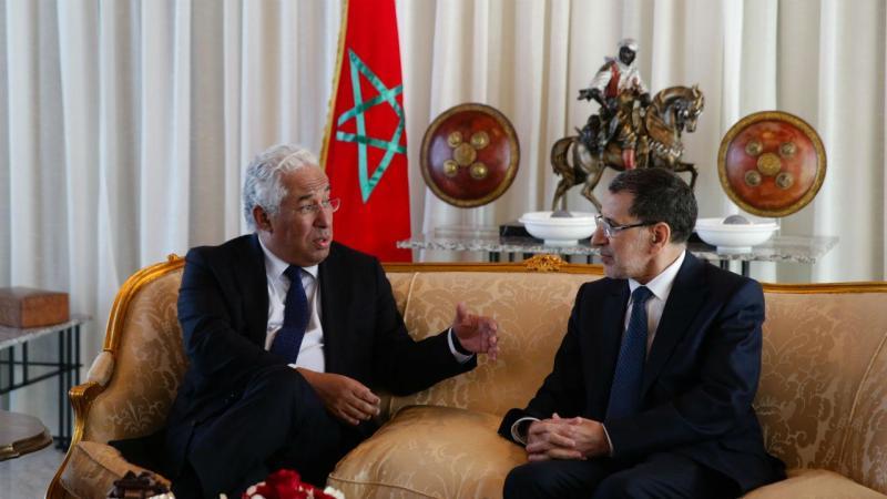António Costa em Marrocos