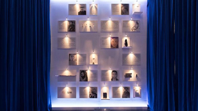 Exposição contém o retrato e biografia de 20 personalidades de todo o mundo