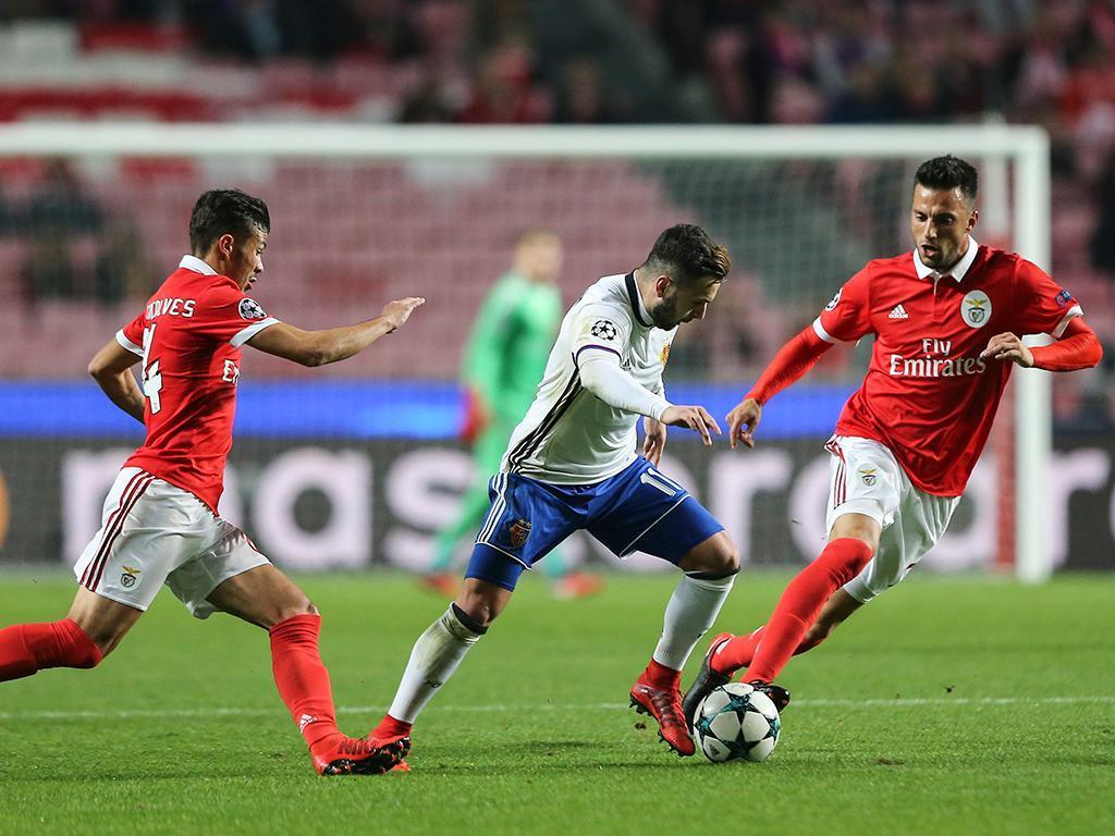 Benfica-Basileia (Lusa)