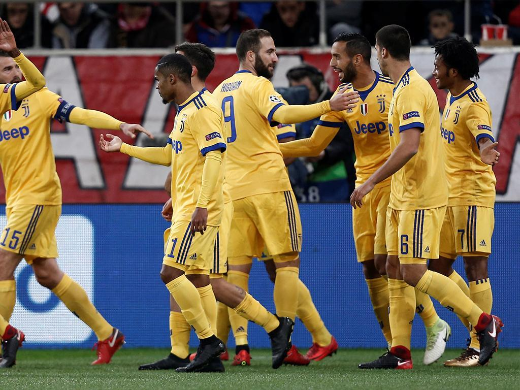 Olympiakos-Juventus (Reuters)