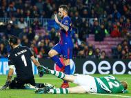 Barcelona-Sporting (Lusa)