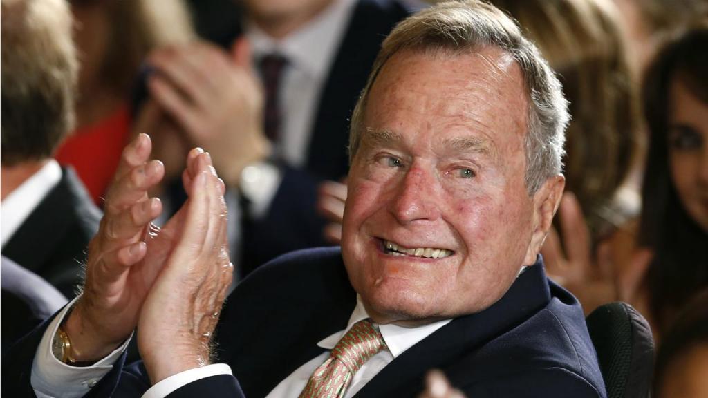 2013 - George H. W. Bush