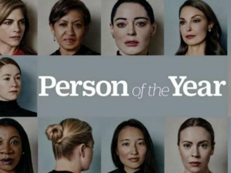 Movimento #MeToo é personalidade do ano da revista