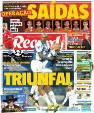 Capas Jornais - 7 de dezembro de 2017