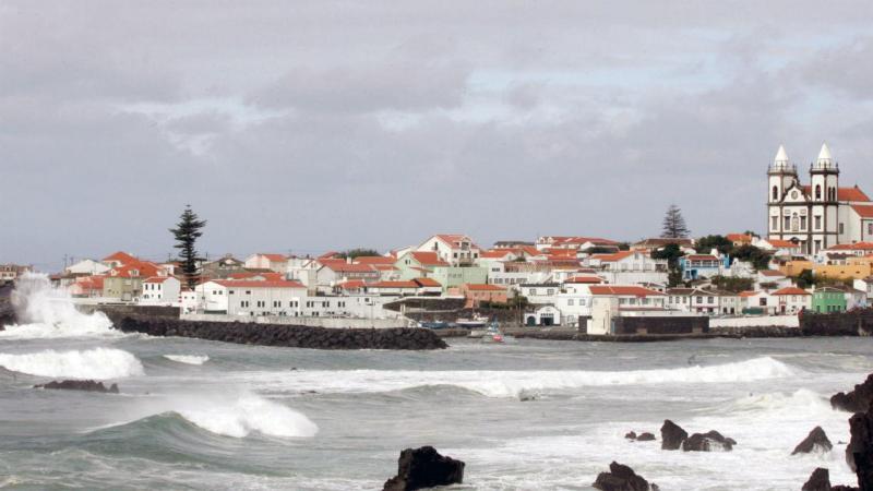 Angra do Heroísmo na Ilha Terceira, Açores