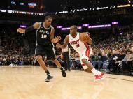 San Antonio Spurs-Miami Heat (Reuters)