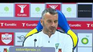 Ivo Vieira: «Não pensamos no momento do Benfica, mas sim no nosso»